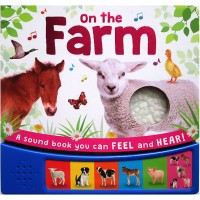On the Farm Sound Board Book with 6 animal sounds