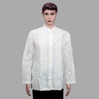 Baju Koko Dewasa Al-Luthfi 0302190 Lengan Panjang Putih Tulang