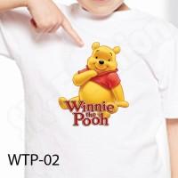 Kaos Anak / Baju Anak Winnie The Pooh - WTP 02