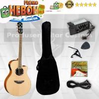 Gitar Yamaha Apx 500ii Akustik Elektrik Paket