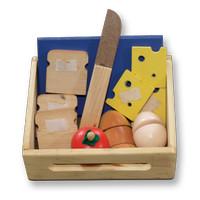 Mainan Kayu Edukatif Roti Potong untuk Edukasi Anak Usia 3-4 Tahun