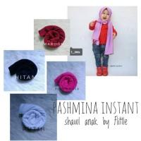 Jual Pashmina jilbab hijab kerudung shawl anak bayi baby instan instant Murah
