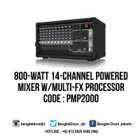 Behringer Powered Mixers EUROPOWER PMP2000