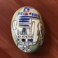 Jual Batu Lukis Star Wars (R2-D2) Murah