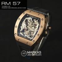 Jam Tangan Pria Richard Mille SWISS ETA RM-057 Dragon Jackie Chan