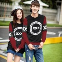 Baju Couple Lengan Panjang | Kaos Kapel LP| Pakaian Pasangan AS82