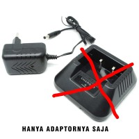 Adaptor Charger HT Baofeng Seri UV 5R UV-5RA UV 5RC UV-5RE