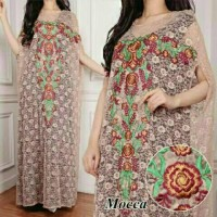 Kaftan Miranda Putih busana muslim dress Limited