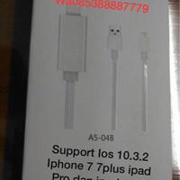 Kabel iphone 7 7+ PLUS to HDMI / HDTV Video TV LCD ipad pro lightning