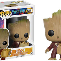 Jual PROMO !! Funko POP! Guardian of The Galaxy - Groot Ravager (PATCH) Murah