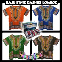 Harga baju etnik lombok baju dashiki aneka warna hippies boho pria | antitipu.com