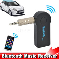Newest Car Bluetooth Music Receiver Universal 3.5mm Jack