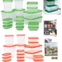 harga Ikea Pruta Food Container Set 17 Pcs Tokopedia.com