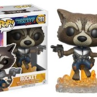 Jual Funko Pop Figure Guardian Of The Galaxy 2 / Figure Rocket & Raccoon Murah