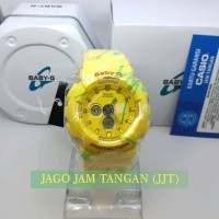 Casio Baby G-Shock BA-120SC-9ADR Yellow Original
