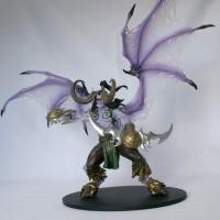 PVC Figure Illidan Stormrage Warcraft Blizzard DC Unlimited misb