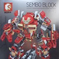 Mainan Anak Lego Iron Man MK16 - Sembo 60001