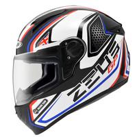 harga Helm Fullface Zeus 811 Al3 Racing Team Black Blue + Dark Smoke Visor Tokopedia.com