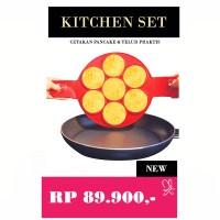 Jual Kitchen Set Cetakan Pancake & Telur Praktis Murah