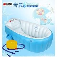 paket baby bath intime biru