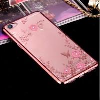 TPU Flower Vivo V5 Plus V5 X9 Silicone Diamond Soft Case Softcase HP