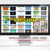 Template Intro & Outro Video Bonus 95 DP BBM