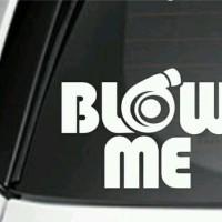 stiker blow me jdm sticker mobil