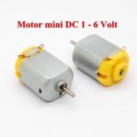harga Motor Dc 1-6volt Mini / Miniatur Dinamo Listrik (3v = 17000-18000 Rpm) Tokopedia.com