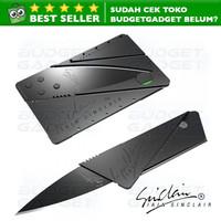 Sinclair 2 Kartu Pisau Lipat Aluminum Cardsharp Hidden Knife