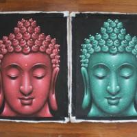 Jual lukisan buddha dari pasir Murah