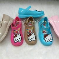Jual Jelly Shoes Premium Kids Slip On Hello Kitty - Sepatu bayi anak murah Murah
