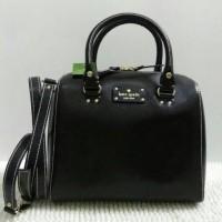 Kate Spade Alessa Wellesley Black Leather NWT. Tas Branded Ori