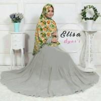 Ready di Toko&Stock Terbatas!Busana Setelan Muslim Wanita Elisa Syari