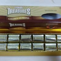 Jual Cokelat Delfi Treasures Golden Almond 216gr Murah
