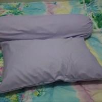 Sarung bantal/Sarung guling warna polos
