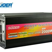 Power Inverter & charger 2000 watt HDA 2000C