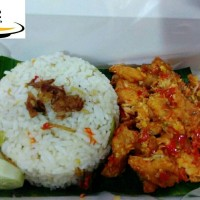 Jual paket nasi liwet+ayam geprek (pedas level 3) 15.000 Murah