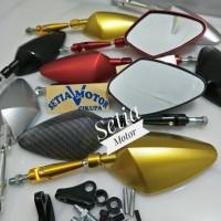 Spion Lipat Tomok Variasi Model Rizoma Motor Nmax / Aerox / Mio / Beat