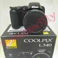 Kamera NIKON COOLPIX L340 BERGARANSI