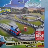 Thomas Adventures Straights and curves track pack
