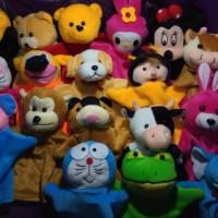 Jual Boneka Tangan Karakter Hewan, Mainan Boneka Edukasi, Mainan Anak Murah
