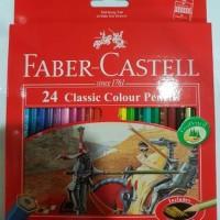 Faber Castell 24 Classic Colour Pencils (24 pensil warna)
