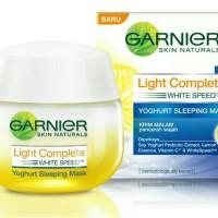 Garnier Light Complete Yogurt Sleeping Mask Night Cream