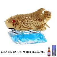 GRATIS PARFUM REFILL 50ML - Parfum Mobil Dashboard Mewah Arwana Gold