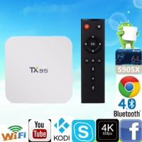 Jual Android Tv Box TX95 Amlogic S905X 2G/16G Android 6.0 802.11AC WIFI Murah