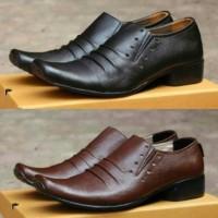 Jual Sepatu Pantofel Slip On/ Sepatu Casual Slop/ Sepatu Kerja Formal Kulit Murah