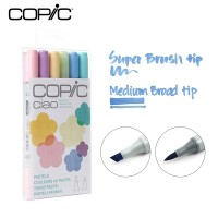 Jual Copic Ciao Marker Set 6 - Pastels Murah