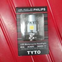 harga Bohlam Led Lampu Depan Motor Vixion By Philips Tokopedia.com