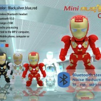 Jual Ironman Bluetooth Speaker ( limited edition ) Murah