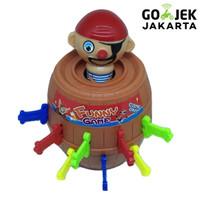 Jual King Pirate Roulette Game Lucky Barrel | Mainan Anak Murah